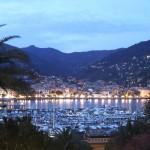 Panorama serale Rapallo